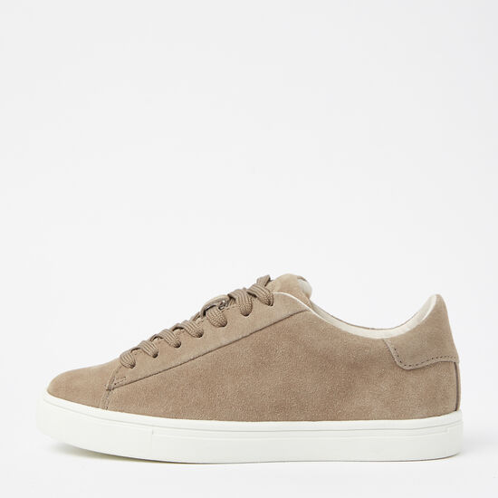 Roots-Shoes Shoes-Womens Lace Up Sneaker Suede-Earth-A