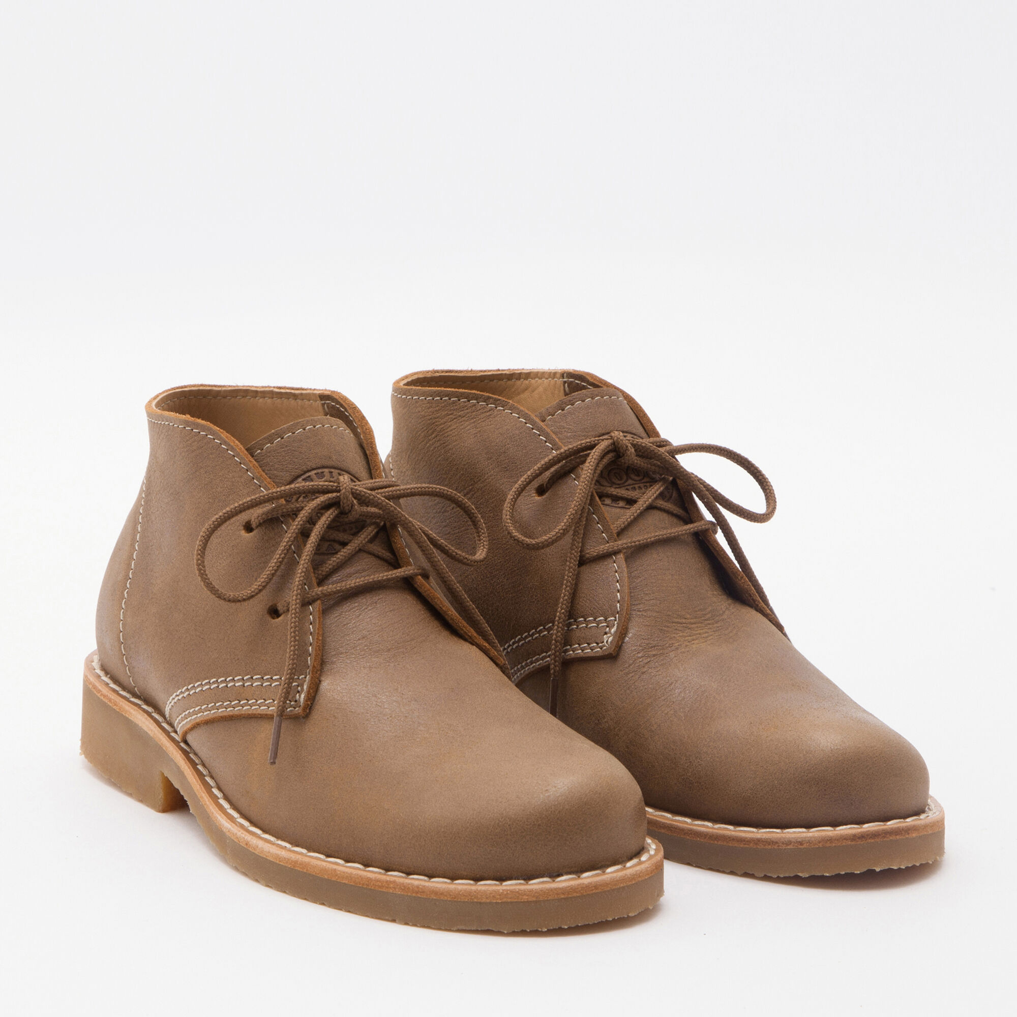 Botte Chukka cuir Tribe pour hommes