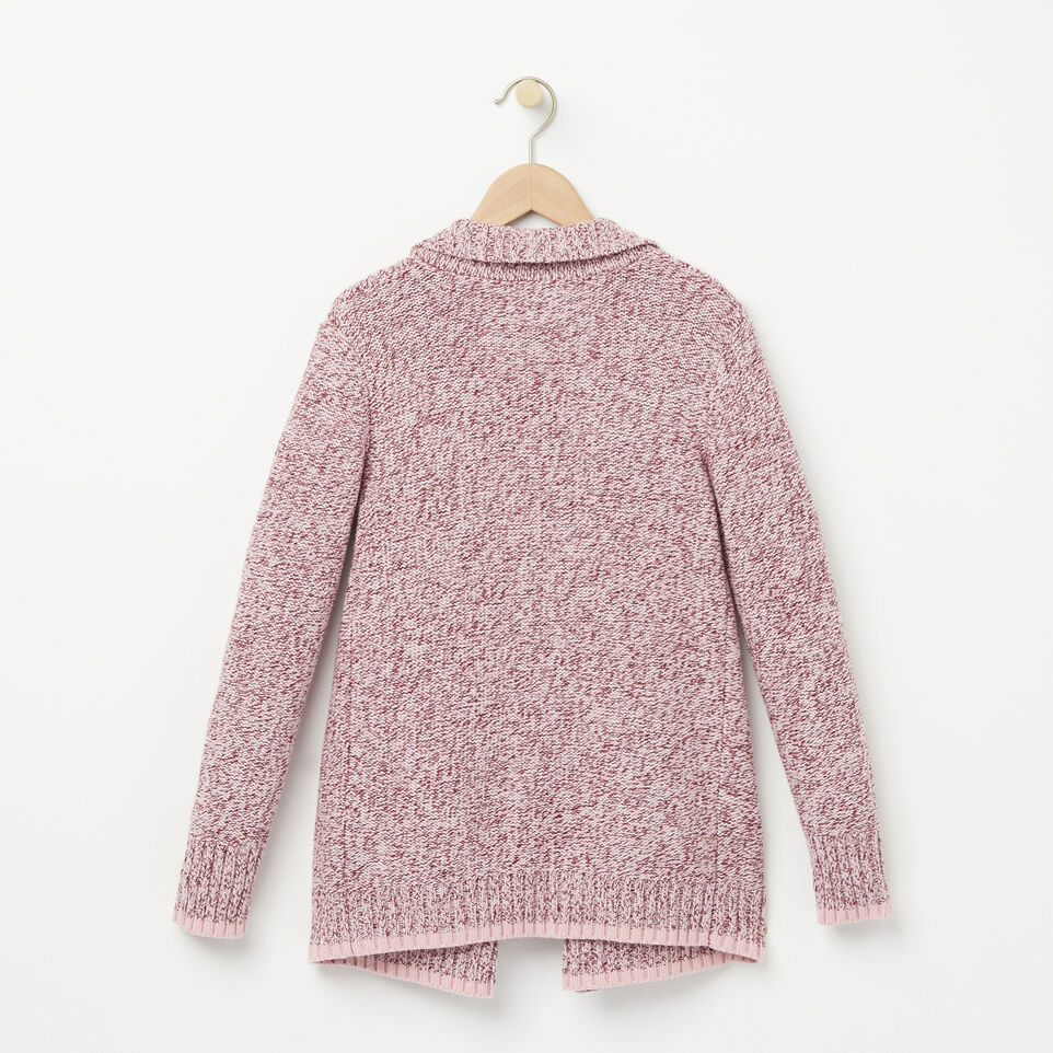 Girls Roots Cabin Waterfall Cardigan | Roots