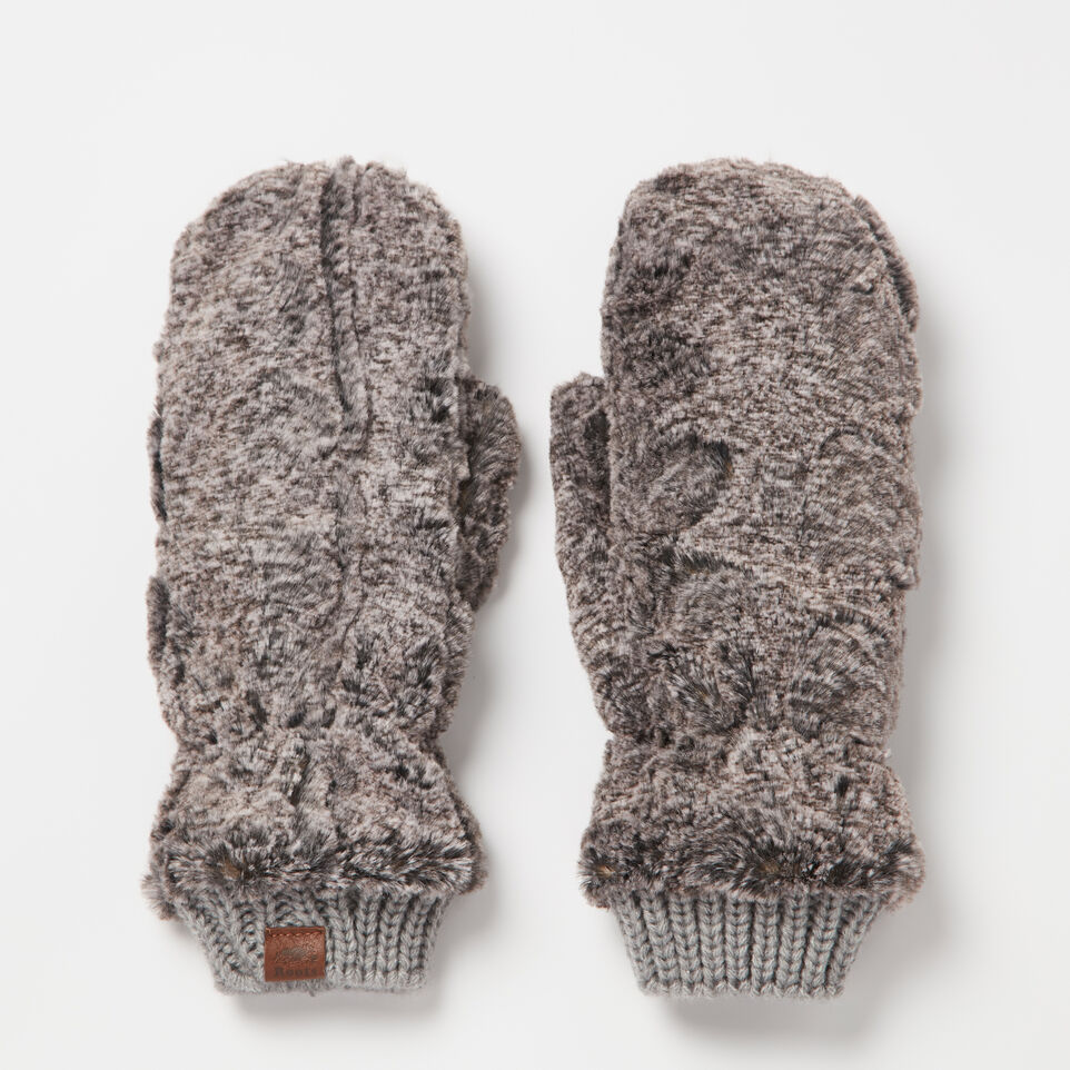 Roots-undefined-Anastasia Faux Fur Mitt-undefined-B