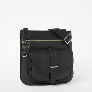 Roots-Leather Handbags-Side Saddle Prince-Black-A