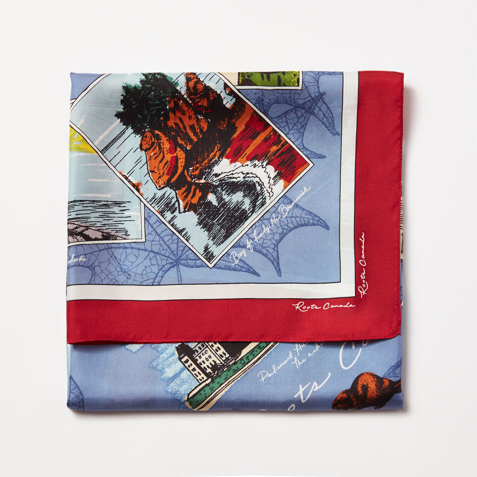 Roots-undefined-Scenery Souvenir Scarf-undefined-A