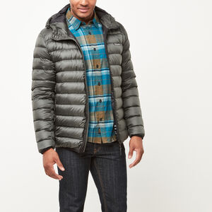 Roots-Men Jackets-Roots Packable Down Jacket-Rosin-A