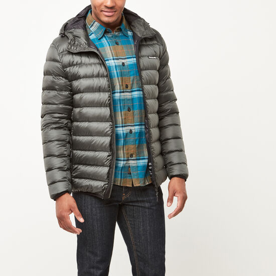 Roots-Men New Arrivals-Roots Packable Down Jacket-Rosin-A