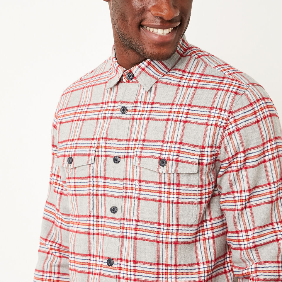 Roots-undefined-Heritage Flannel Shirt-undefined-D