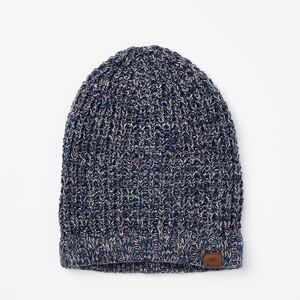 Roots-Women Hats-Lori Sloppy Toque-Insignia Blue-A