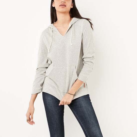 Roots-Women Bestsellers-Heather Hoody-Grey Mix-A