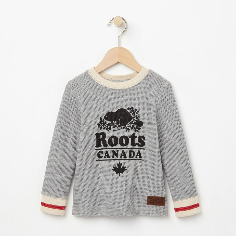 Roots-undefined-Toddler Roots Cabin Waffle Top-undefined-A