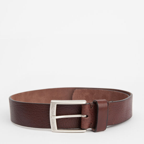 Roots-Men Belts-Mckay Belt-Brown-A