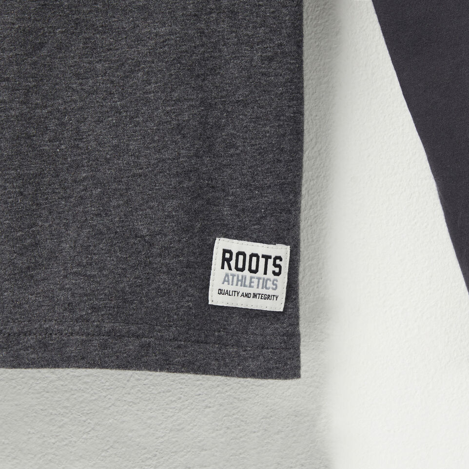 Roots-undefined-Cross Bar Long Sleeve T-shirt-undefined-D