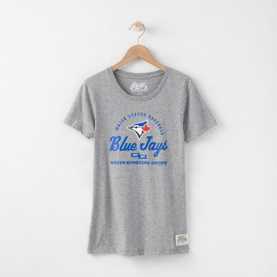 Roots-undefined-Womens Blue Jays T-shirt-undefined-A