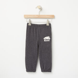 Roots-Kids Bestsellers-Baby Original Sweatpant-Charcoal Mix-A