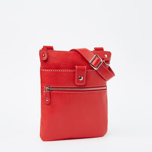 Roots-Leather Roots Original Flat Bags-Small Venetian Prince-Canada 150 Red-A