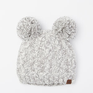 Roots-Gifts Mini Me-Girls Winter Fox Pup Toque-Snowy Fox-A