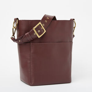 Roots-Leather Totes-Equestrian Bucket Bridle-Garnet-A