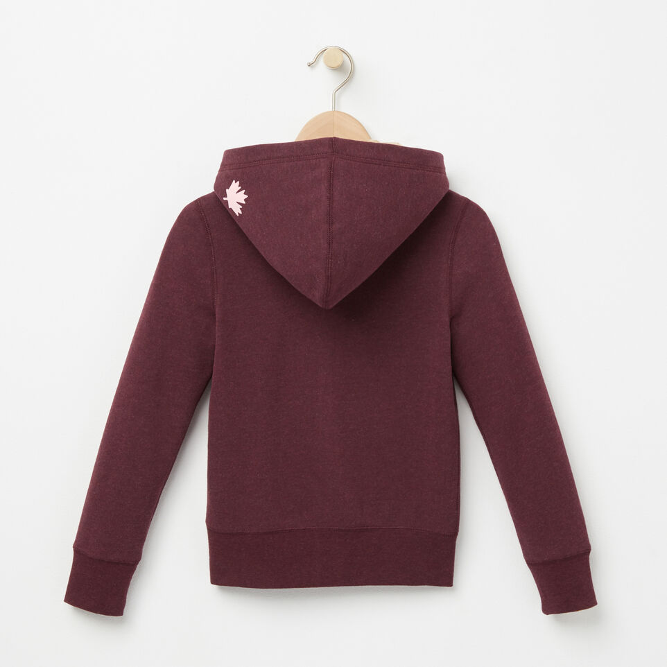 Roots-undefined-Girls Original Full Zip Hoody-undefined-B