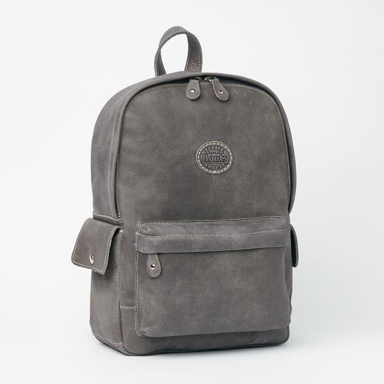 Roots-Women Backpacks-Central Pack Tribe-Charcoal-A