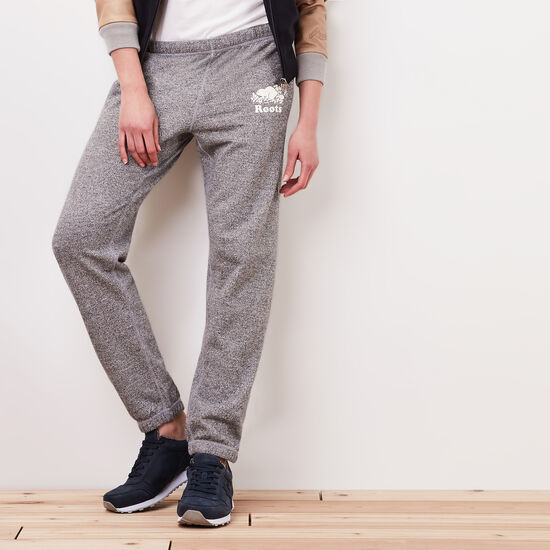 Roots-Women Original Sweatpants-Roots Salt and Pepper Original Sweatpant - Regular-Salt & Pepper-A