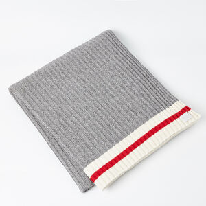 Roots-Men Roots Home-Tweed Cabin Blanket-Grey Mix-A