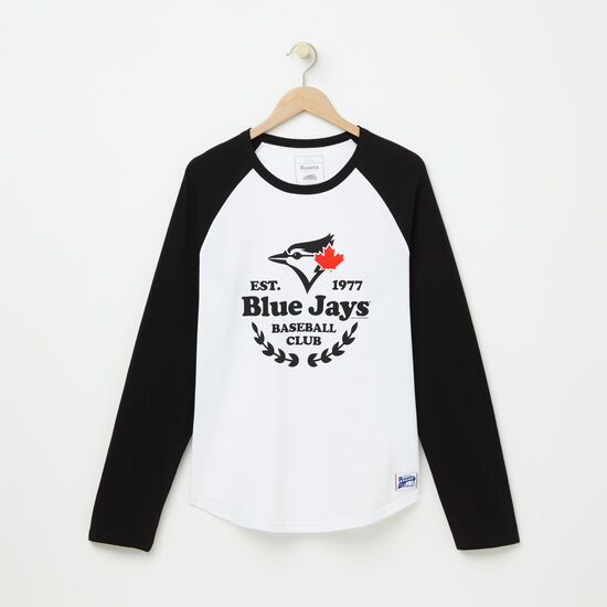 Roots-Men Toronto Blue Jays™-Mens Blue Jays Ag Baseball T-shirt-White-A