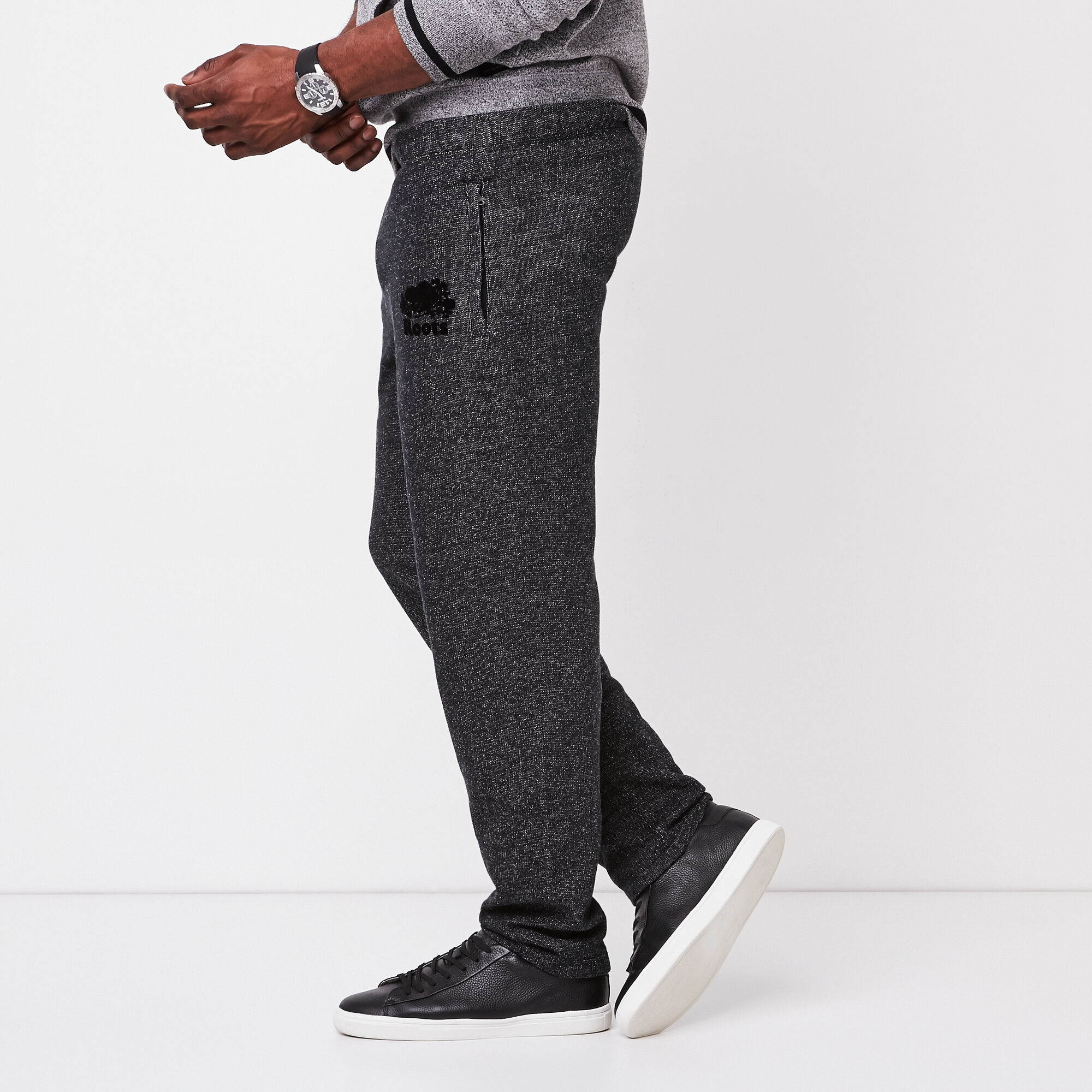 Roots Black Pepper Heritage Sweatpant