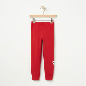 Roots-Kids Bottoms-Toddler Heritage Canada Cozy Legging-Sage Red-A