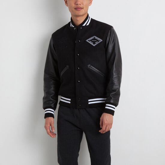 Roots-Men Award Jackets-Roots X Huck Jacket-Black-A
