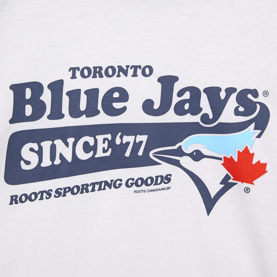 Roots-undefined-Mens Blue Jays Ballpark Baseball T-shirt-undefined-C