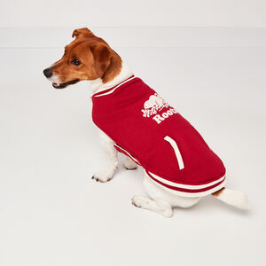 Roots-Men Roots X Canada Pooch®-Canada Pooch Bomber Vest Size 12-Lodge Red-A