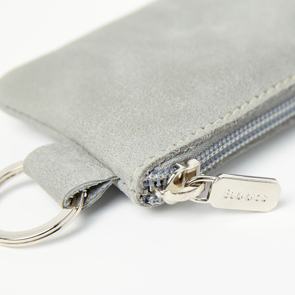 Roots-undefined-Top Zip Key Pouch Tribe-undefined-D