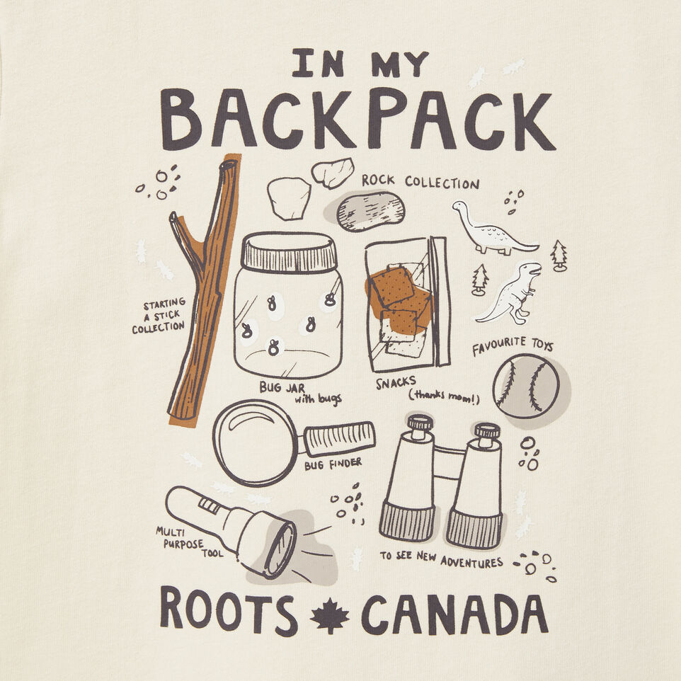 Roots-undefined-Toddler In My Backpack Glow T-shirt-undefined-C