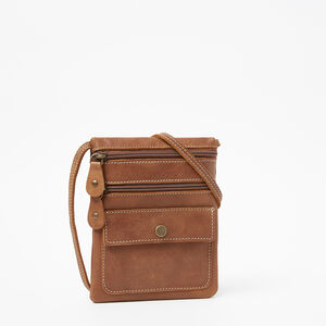 Roots-Leather New Arrivals-Hanging Pouch Tribe-Africa-A