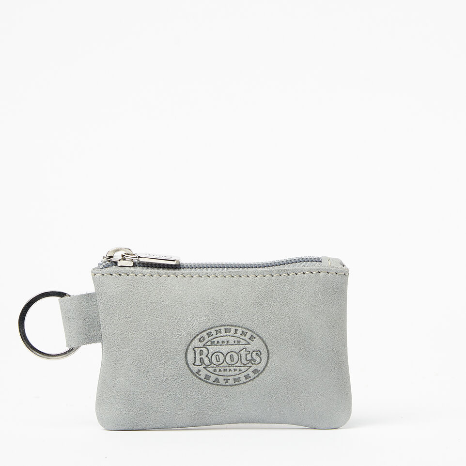 Roots-undefined-Top Zip Key Pouch Tribe-undefined-B