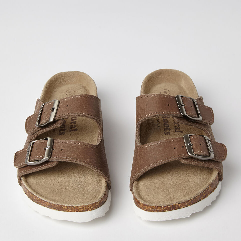 Roots-undefined-Womens Natural Roots 2 Strap Tribe-undefined-D