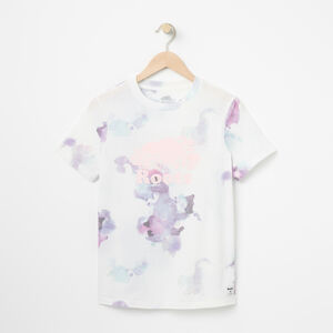 Roots-Women Tops-Water Colour Cooper T-shirt-White-A