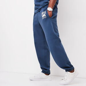 Roots-Men Bottoms-Classic Relaxed Sweatpant-Dark Denim-A