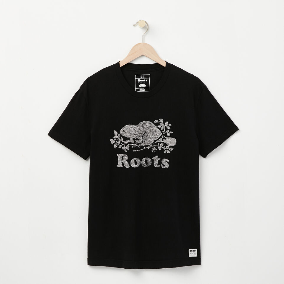 Roots-undefined-T shirt Poivré Castor-undefined-A