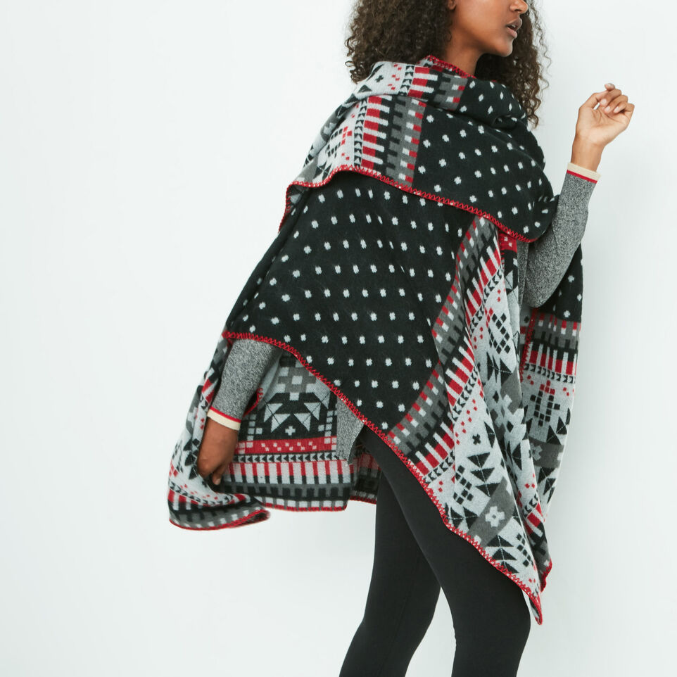Roots-undefined-Jocelyn Blanket Wrap-undefined-B