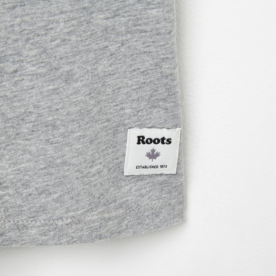 Roots-undefined-V-neck Cooper T-shirt-undefined-C