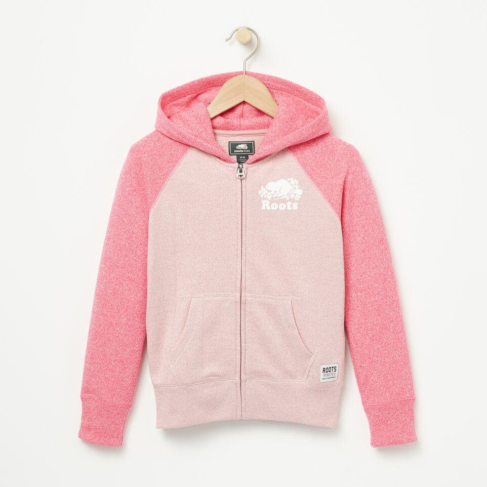 Roots-undefined-Girls Original Full Zip Hoody-undefined-A