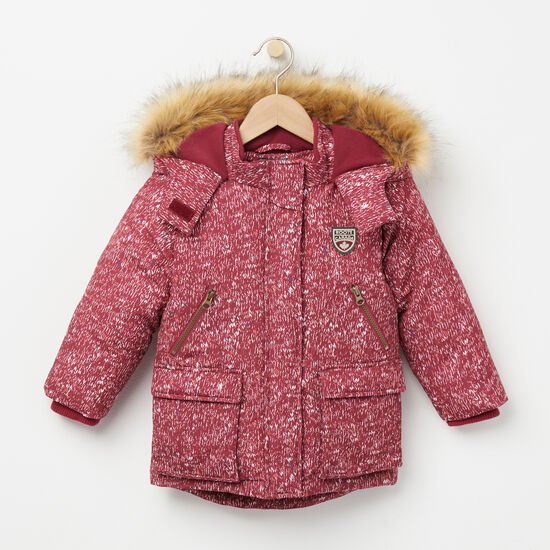 Roots-Kids New Arrivals-Toddler Western Fields Parka-Rhododendron-A