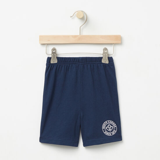 Roots-Sale Baby-Baby Moncton Shorts-Cascade Blue-A