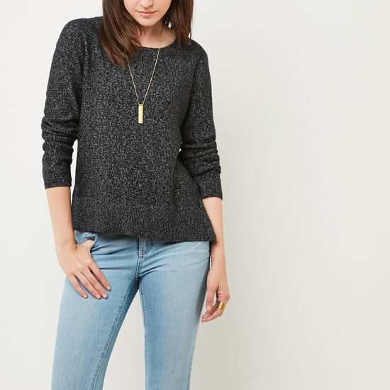 Roots-Women Sweaters & Cardigans-Snowy Fox Pullover-Black Fox-A