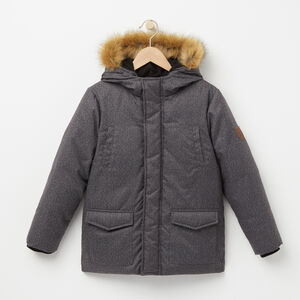 Roots-Kids Categories-Boys Elmer Winter Parka-Herringbone Aop-A