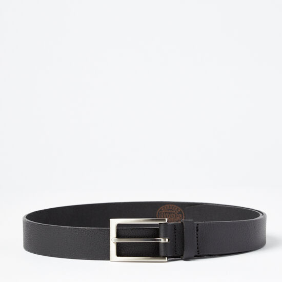 Roots-Men Belts-Thomas Belt-Black-A
