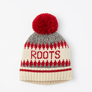 Roots-Kids Accessories-Kids Roots Cabin Toque-Grey Oat Mix-A