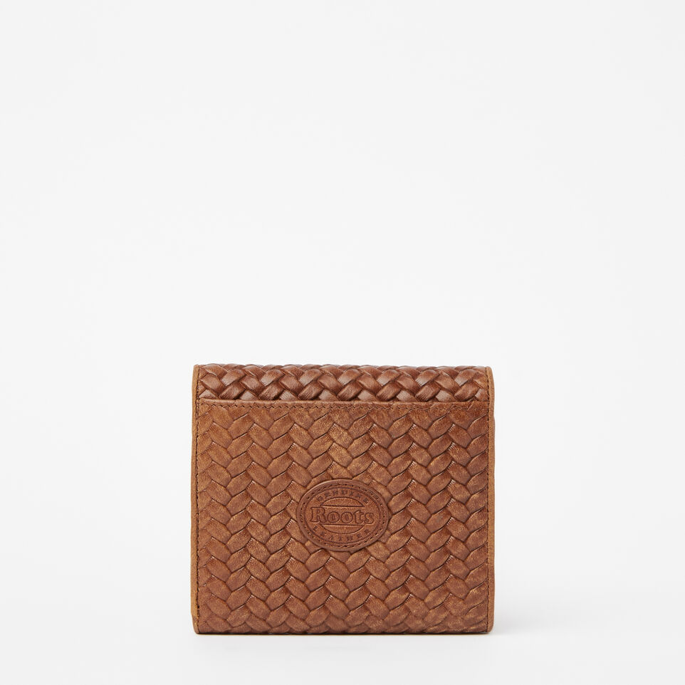 Roots-undefined-Easy Trifold Wallet Woven-undefined-C