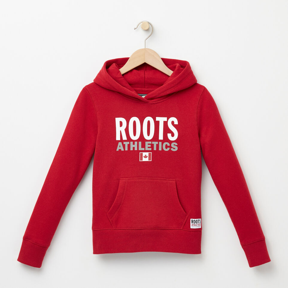 Roots-undefined-Girls Roots Re-issue Kanga Hoody-undefined-A