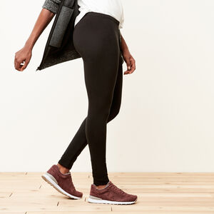 Roots-Sale Bottoms-Cozy Fleece Legging-Black-A
