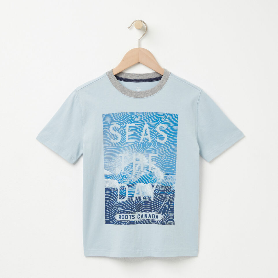 Roots-undefined-Garçons T-shirt Seas The Day-undefined-A